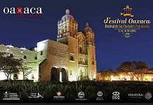 Primer Festival Oaxaca. Festival de las Ciudades Patrimonio : Cartel © Municipio de Oaxaca