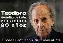 Teodoro González de León, un creador con espíritu renacentista : Fotografía © Secretaría de Cultura de México