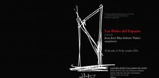 Las Pieles del Espacio en la Galería Jesús Gallardo del Instituto de Cultura de León : Cartel © Secretaría de Cultura de México