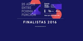 Premio Obras CEMEX 2016 : Cartel © Premio Obras CEMEX