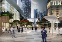 Gate Avenue del Dubai International Financial Centre (DIFC) diseñado por RMJM : Render cortesía de © Dubai International Financial Centre