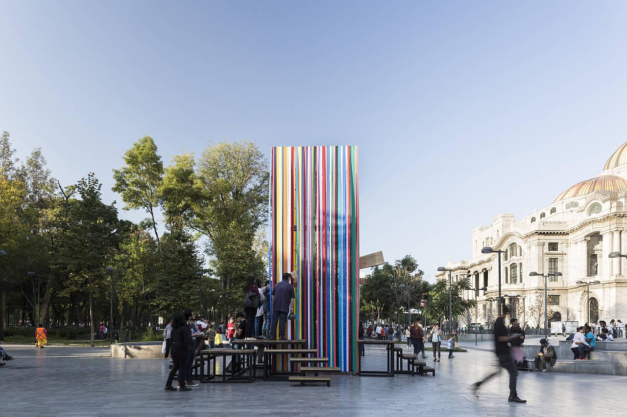 La Miradora diseñada por ARCHETONIC en el Abierto Mexicano de Diseño 2016 : Fotografía © Onnis Luque