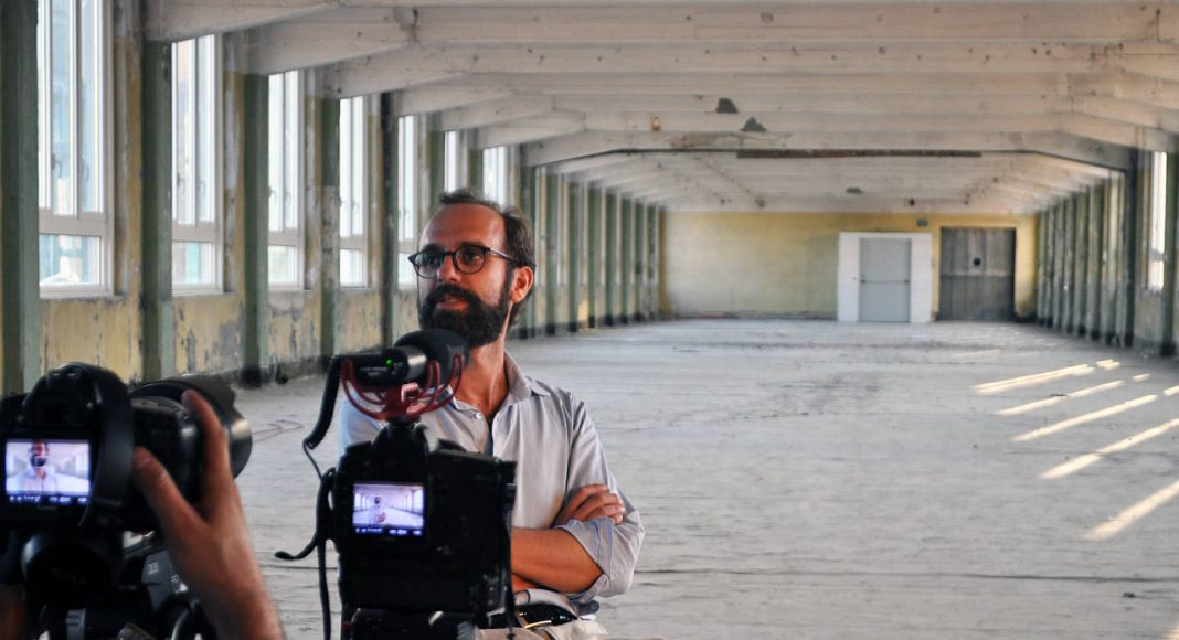 Piero Pelizzaro Backstage Interview : Photo © Amateur Cities and © New Generations