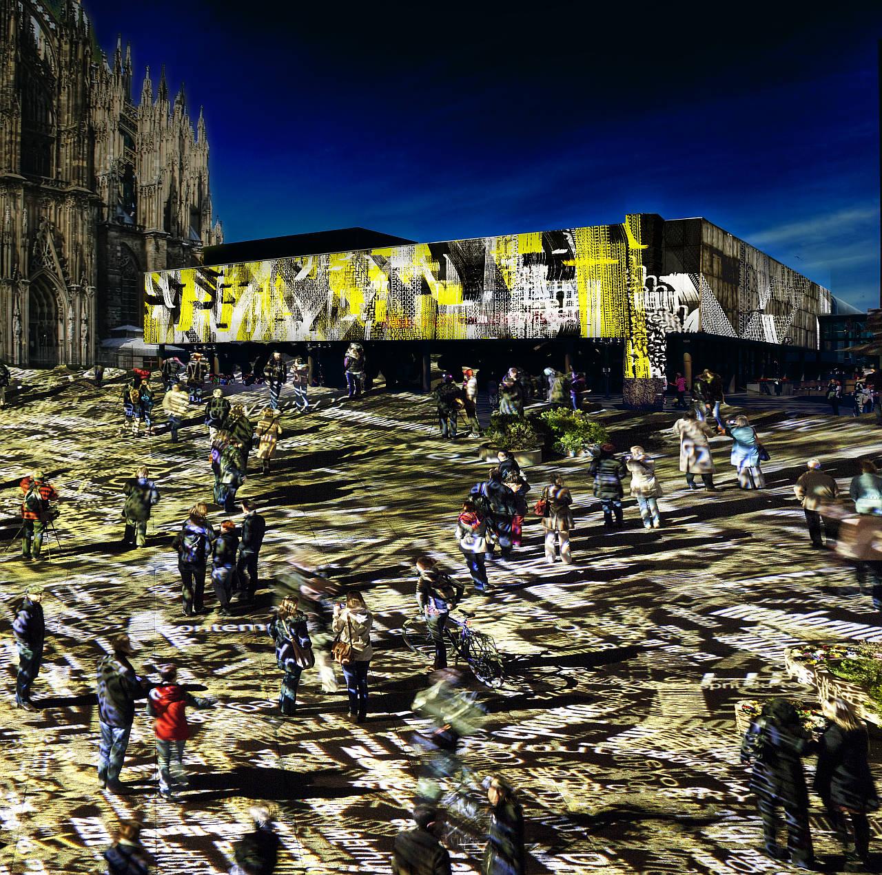Time Drifts Cologne creada por el artista Philipp Geist : Render © Philipp Geist, courtesy of © Westermann Kommunikation