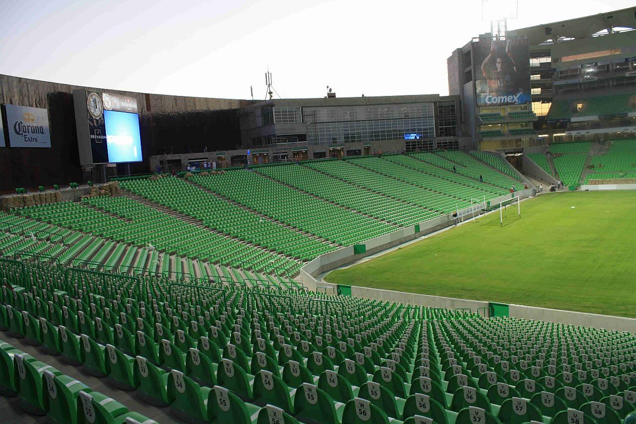 Estadio Territorio Santos Modelo, casa de los Santos de Torreón : Fotografía © Autodesk México