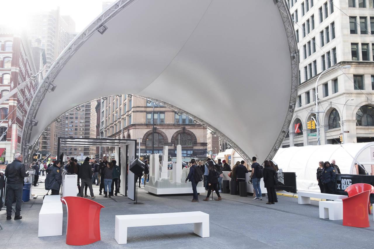 Design Pavilion 2016 en Cooper Square : Photo courtesy of © Susan Grant Lewin Associates
