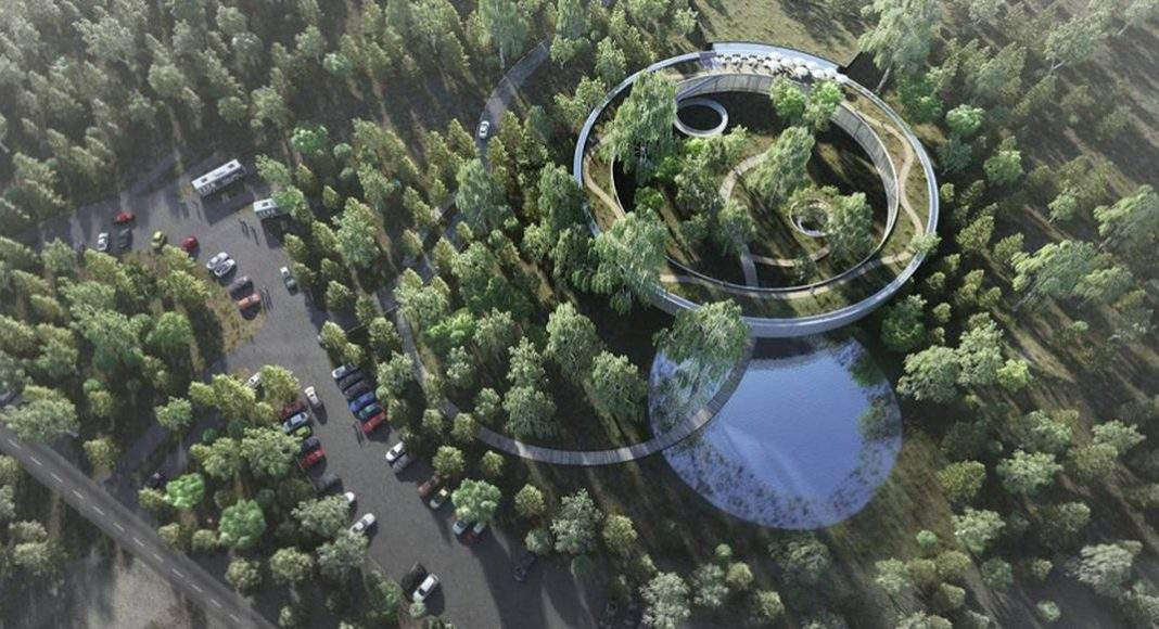 Wangari Muta Maathai House - Vista Aérea : Photo credit © Boogertman + Partners Architects