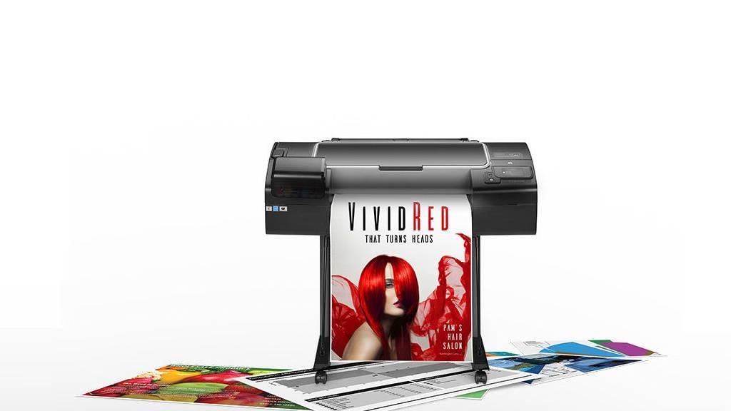 HP DesignJet Z2600 PostScript Printer : Fotografía © HP México
