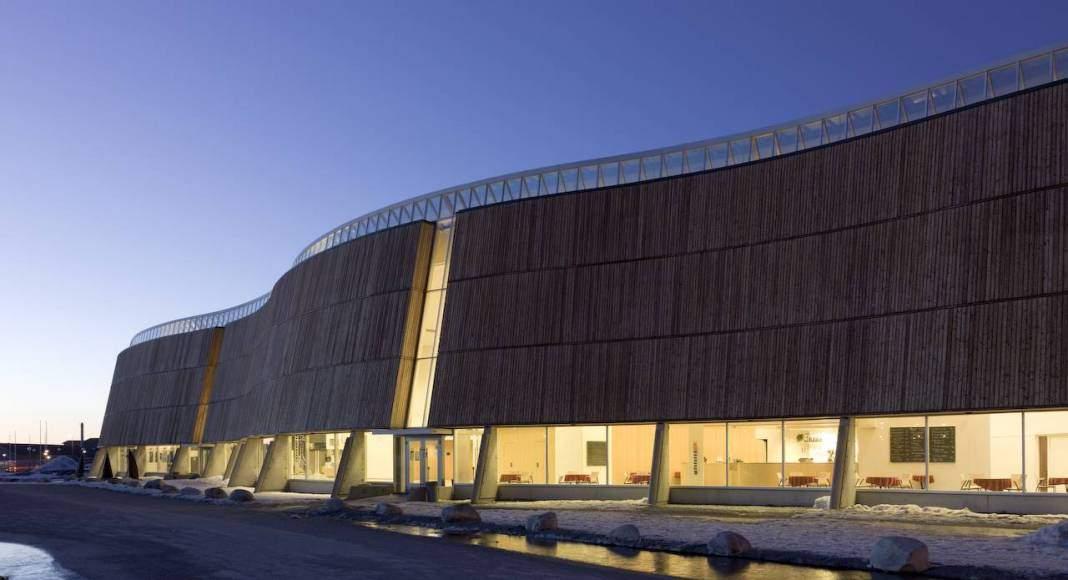 Centro Cultural Katuaq diseñado por Schmidt Hammer Lassen : Photo © Schmidt Hammer Lassen Architects