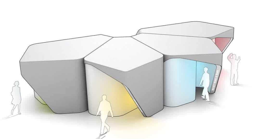 UNStudio en colaboración con SCAPE crean una Zona Libre de Estrés : Image © UNStudio Research and © SCAPE