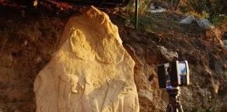 Nuevas tecnologías optimizan investigación y conservación de monumentos y esculturas en Chalcatzingo, Morelos : Fotografía cortesía de © Carolina Meza y © Mario Córdova INAH