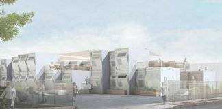 Rendering of Homes for Hope : Render © MADWORKSHOP