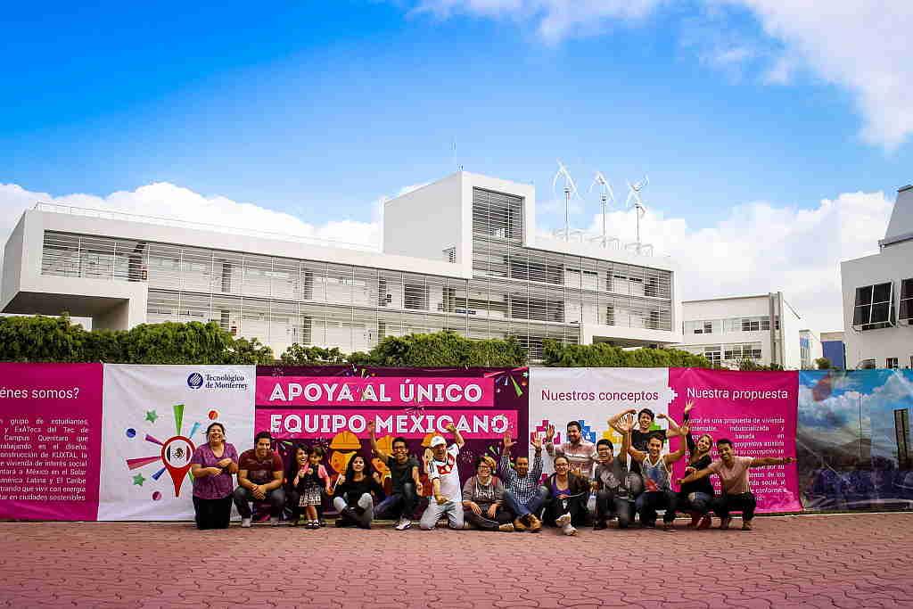 Equipo Kuxtal Tecnológico de Monterrey Campus Querétaro : Fotografía © Equipo Kuxtal Solar Decathlon LAC 2015