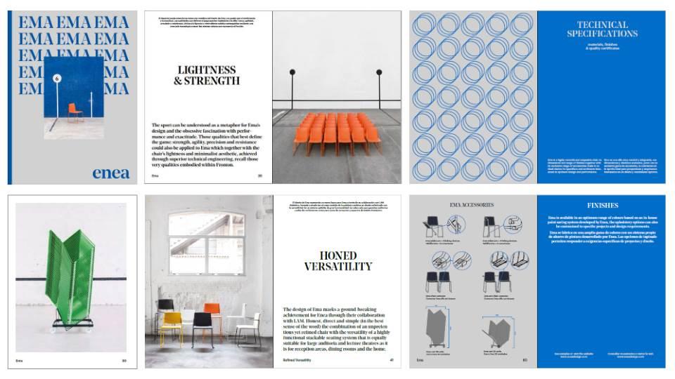 El nuevo catálogo de la silla EMA
