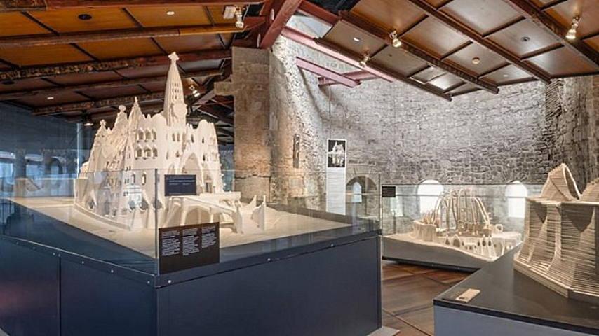 Exposición Los Enigmas y Misterios de Gaudí : Fotografía © Institut de Cultura de Barcelona