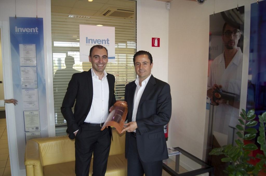 Sante Bortoletto, Director General de Invent Srl. y Alejandro Cervantes, CEO MaDi Construcciones : Photo © MaDi Construcciones