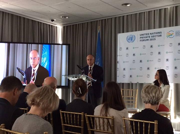 Francesco Starace destaca la aportación del Grupo para lograr Objetivos de Desarrollo Sustentable de la ONU : Fotografía: © ENEL Green Power