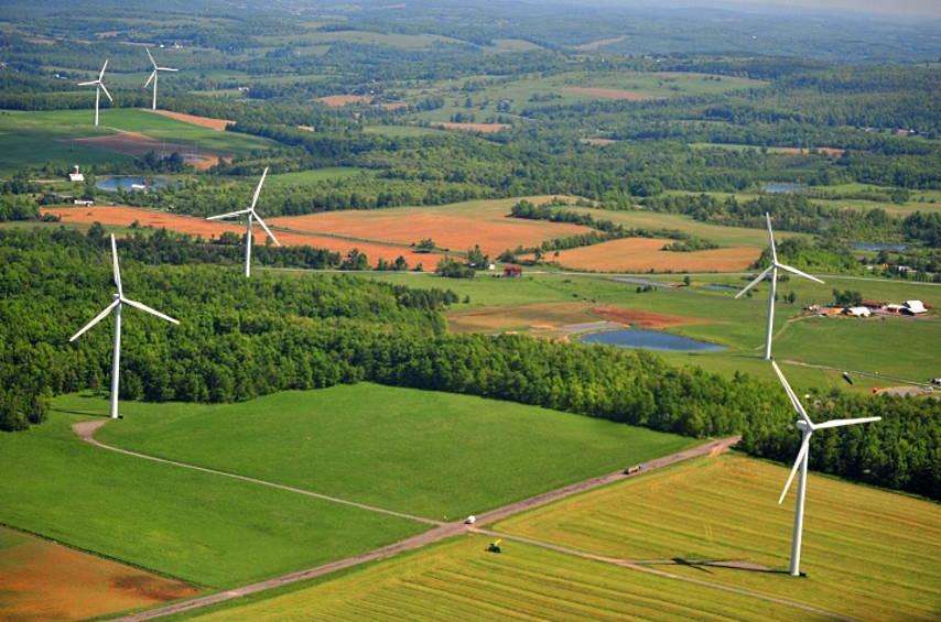 Parque de Energía Eólica : Fotografía © Enel Green Power