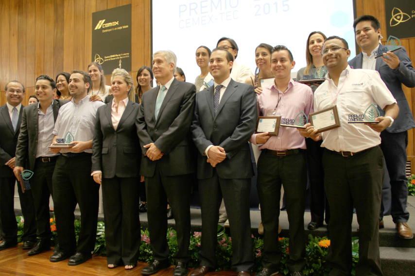 Ganadores del Premio CEMEX-TEC Emprendedores Sociales : Fotografía © Centro CEMEX-Tec de Monterrey