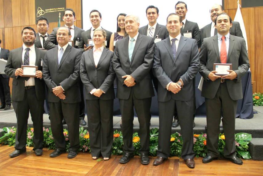 Ganadores del Premio CEMEX-TEC Innovación en la Construcción : Fotografía © Centro CEMEX-Tec de Monterrey