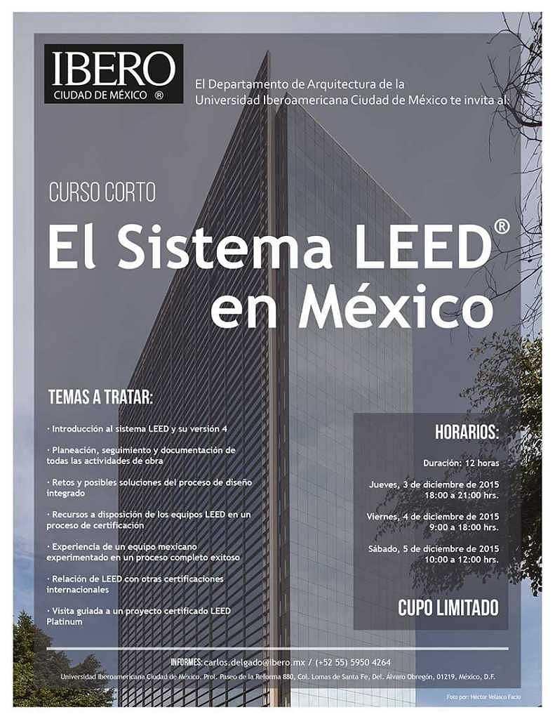 Poster: © Departamento de Arquitectura de la Universidad Iberoamericana