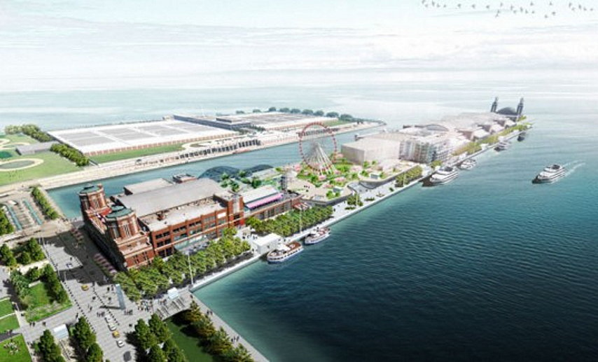 New Design Scheme for Overhaul of Chicago's Navy Pier by © James Corner Field Operations