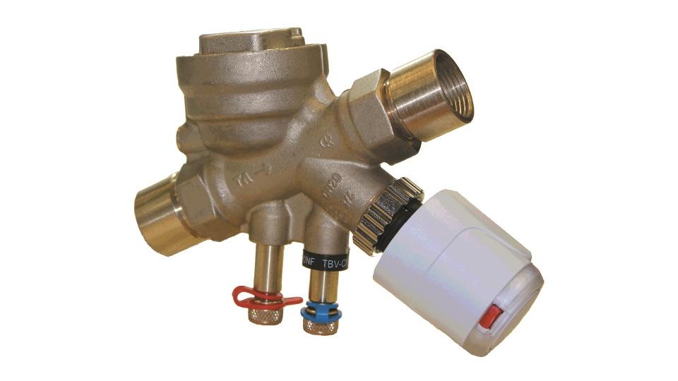 Nueva Válvula de Balanceo y Control de Presión Independiente TA-Series-TCP : Fotografía © Victaulic