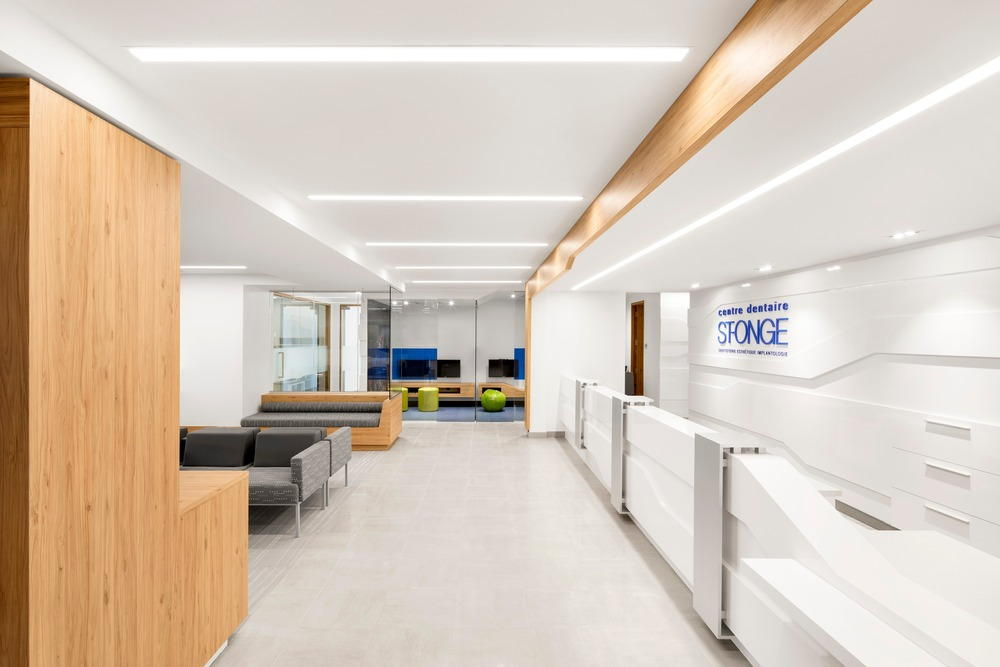 Le 1650 St-Onge Dental Center : Photo credit © Adrien Williams