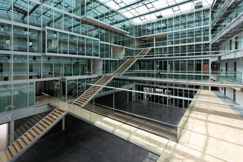 LMH Siege Soscial - ZAC de L'Union - DFA | Dietmar Feichtinger Architectes  : Photo © David Boureau