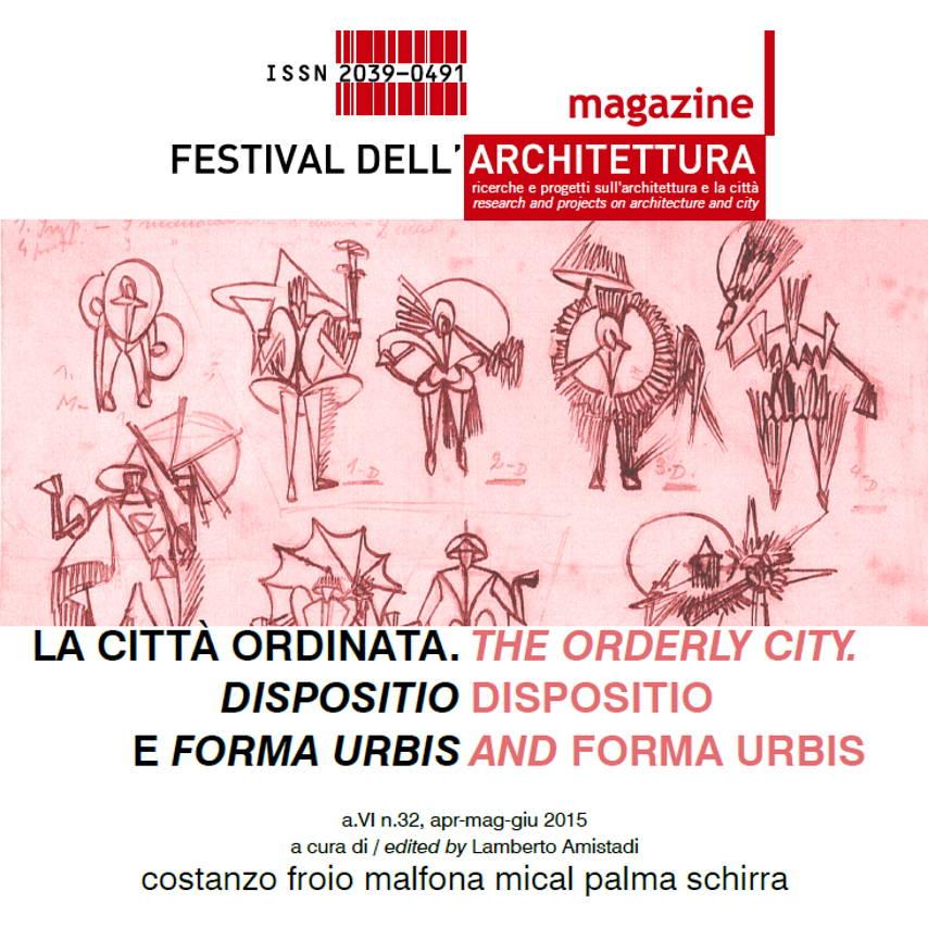 FAmagazine 32 : Cover © Festival dell'Architettura