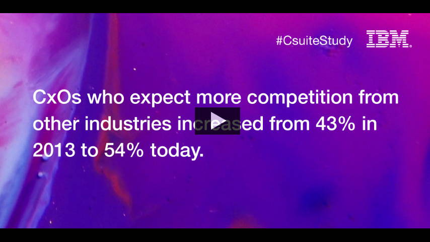 C-suite Study by IBM : Photo © IBM