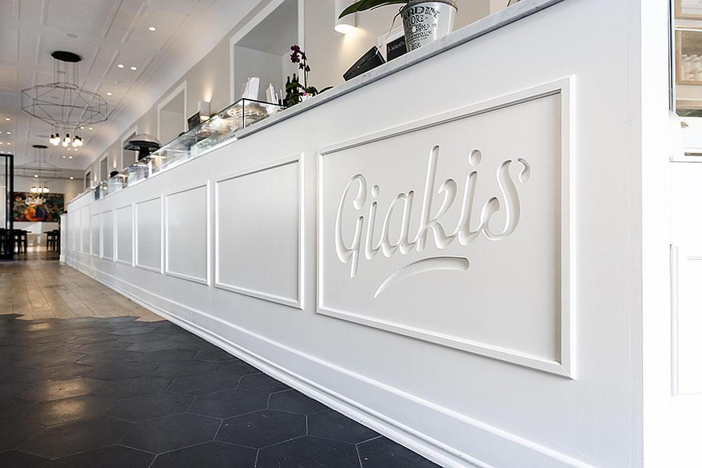 """""""Giakis"""" Restaurant & Bar, Roma - 2015 by Studio Kami Architetti : Fotografía © Sebastiano Luciano"""