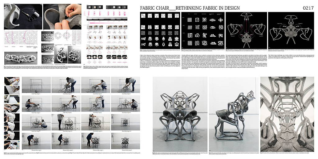 First Place Fabric Chair - VMODERN Furniture Design Competition : Image © eVolo Magazine