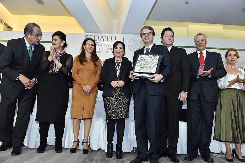 José Antonio Torre y el Comité de SEDATU : Fotografía © Tecnológico de Monterrey