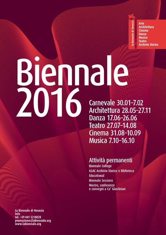 Poster © La Biennale di Venezia