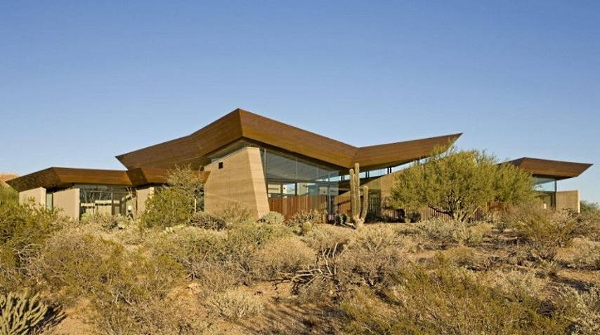 Desert Wing House : Photo credit © Brent Kendle