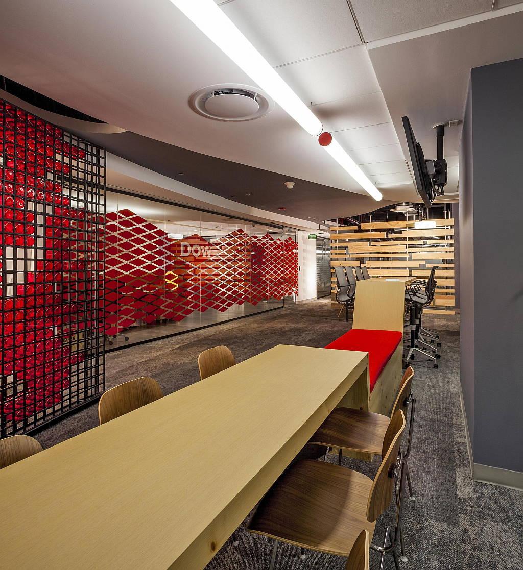 Corporativo DOW diseño de SpAce Arquitectura : Fotografía : © Paul Czitrom