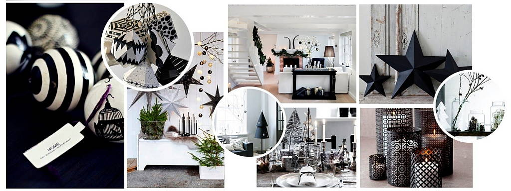 10 Tendencias Navideñas 2015 - Black & White : by © MANUEL TORRES DESIGN