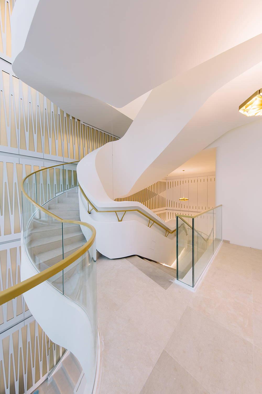 Mixed Use Building Toison d'Or in Brussels, Blegium by UNStudio : Photo © Eva Bloem