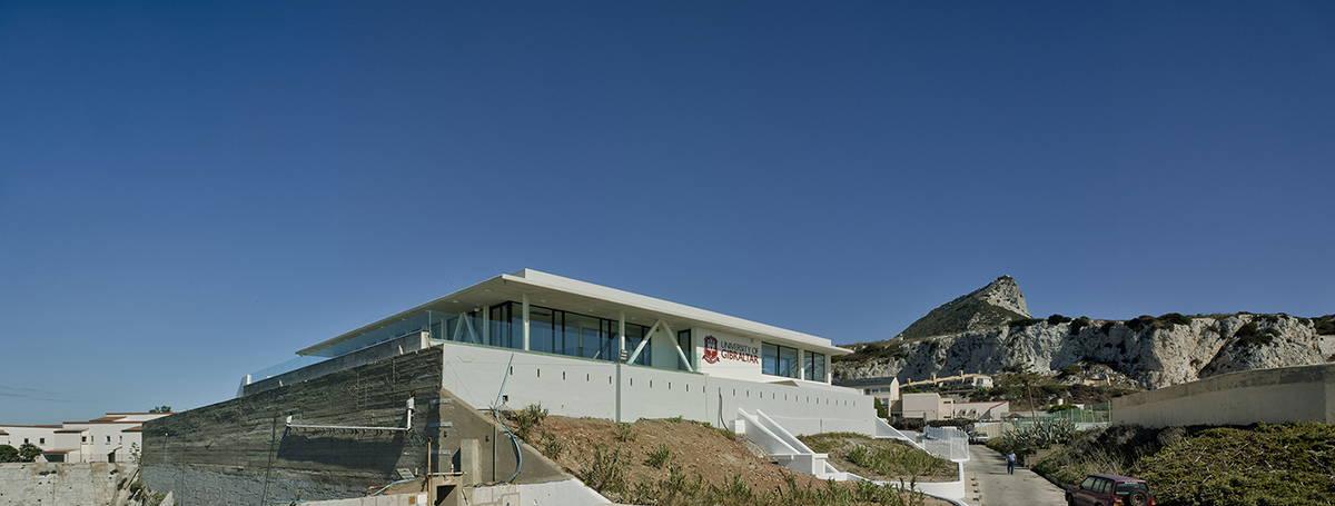 Vista General del Restaurante Universidad de Gibraltar por Ayalto Integral : Fotografía © David Frutos Ruiz