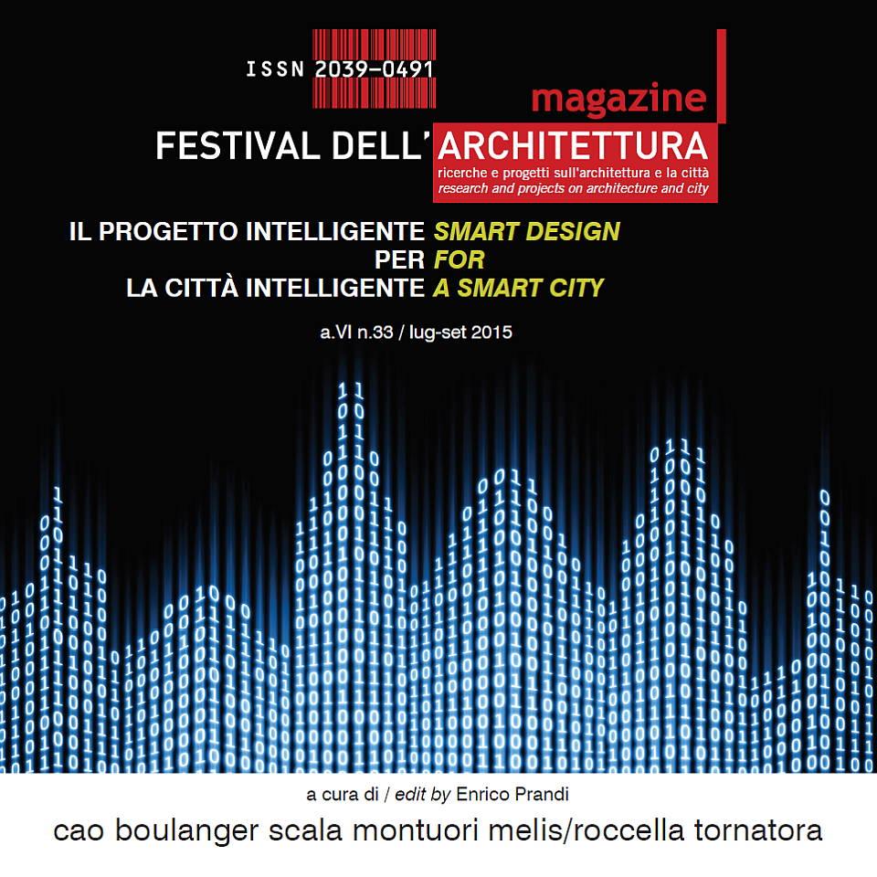 FAMagazine #33: Diseño Inteligente para una Ciudad Inteligente : Cover © FAMagazine