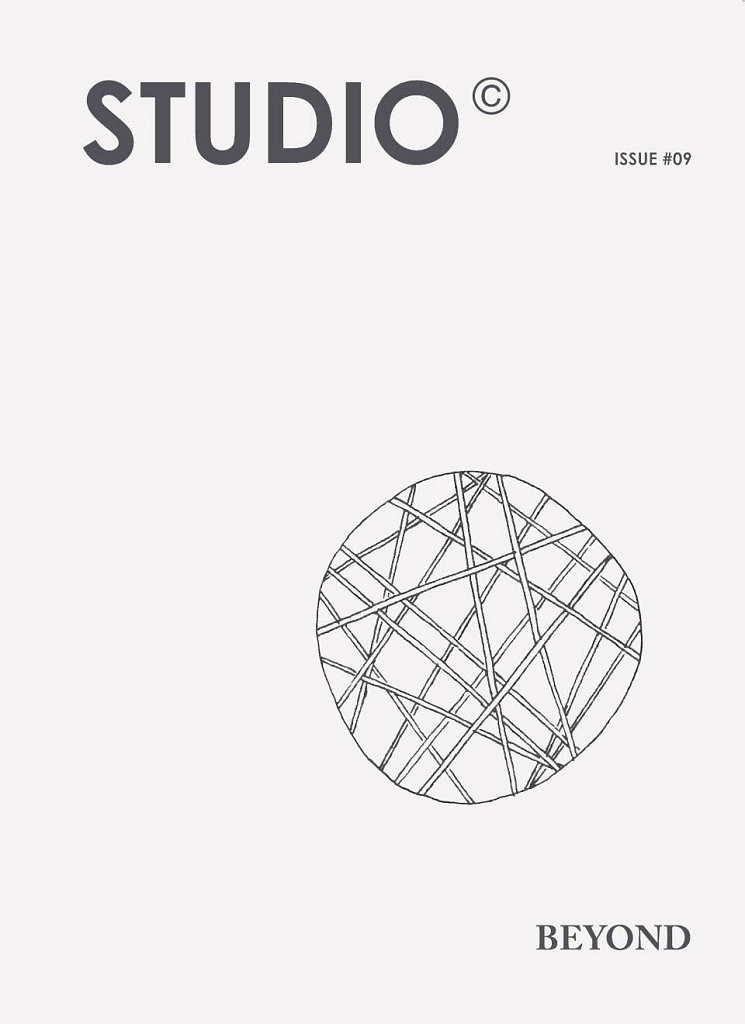 STUDIO #09 BEYOND : Cover © STUDIO Magazine