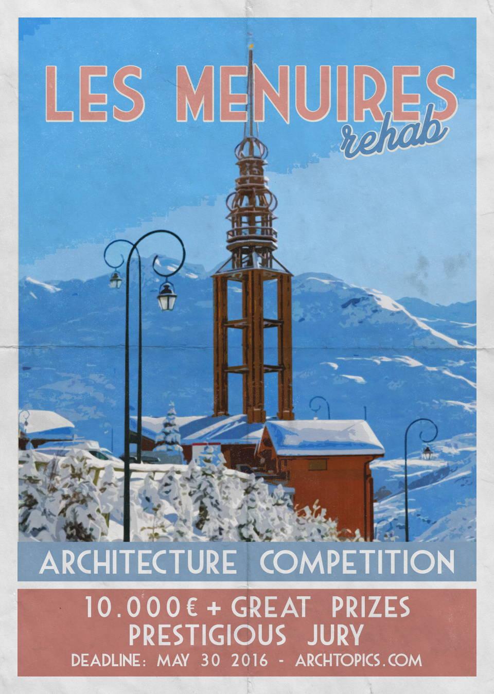 Concurso Internacional de Arquitectura Les Menures Rehab : Fotografía © ARCHtopics