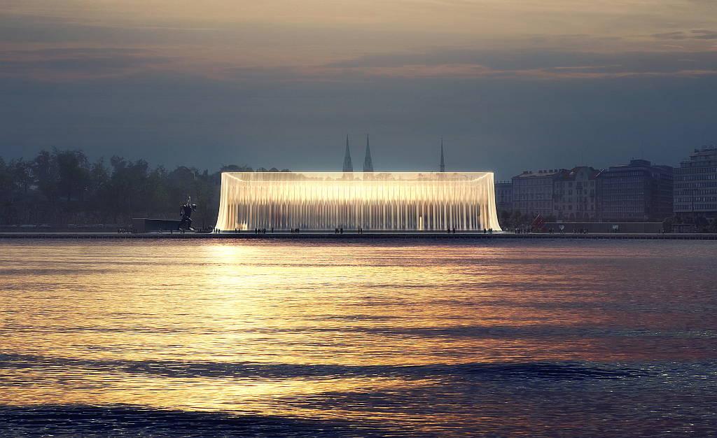 Asif Khan: Guggenheim Helsinki, Finland, 2015 : Photo courtesy © Asif Khan