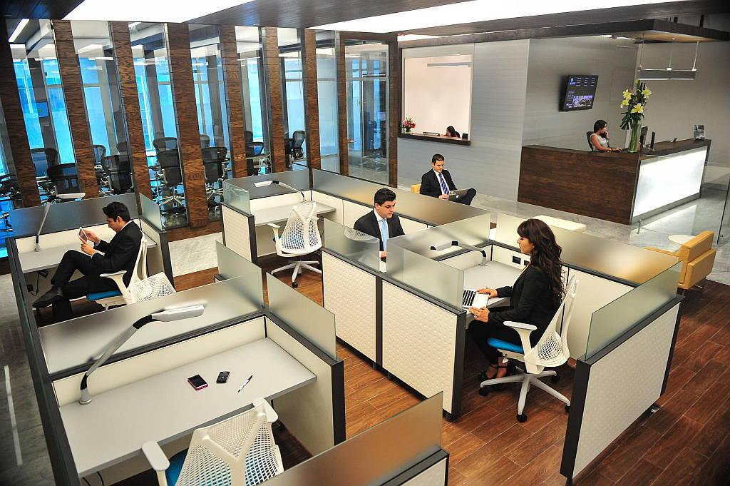 IOS Virreyes Business Lounge Citi diseño de Space Arquitectura : Fotografía © Paul Czitrom
