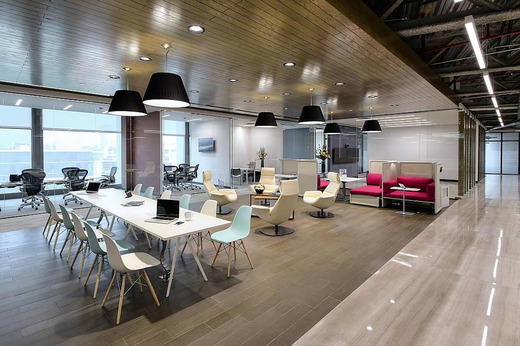 IOS Virreyes Business Lounge diseño de Space Arquitectura : Fotografía © Paul Czitrom