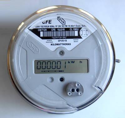 Medidor Inteligente : Fotografía © Comisión Federal de Electricidad