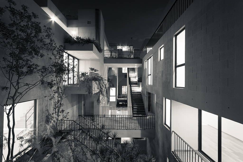 Edificio Guanajuato 148, Colonia Roma proyecto de Ambrosi | Etchegaray : Fotografía © Nasser Malek