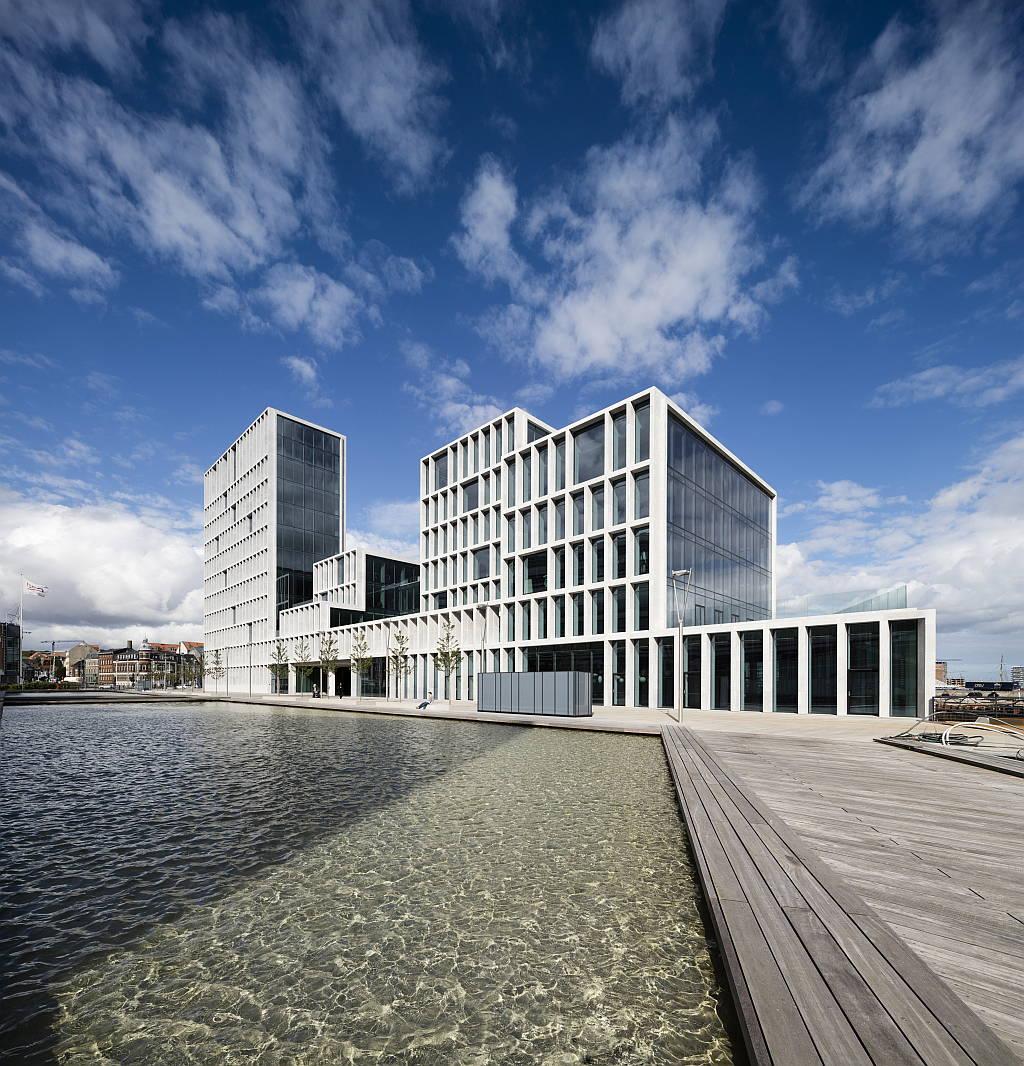 Bestseller office complex by C.F. Møller wins WAN Commercial Award 2015 : Photo © Adam Mørk