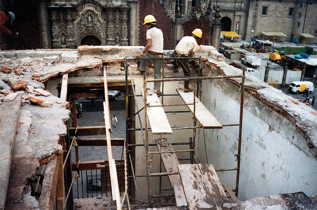 """""""Fundación Herdez una Restauración Ejemplar"""" antes del proyecto de restauración : Fotografía © Fundación Herdez"""
